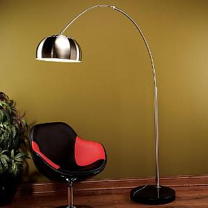 Chrome Arch Lamp Reproduction