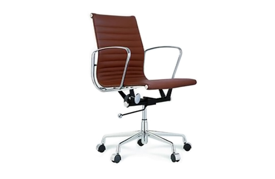 eames aluminum management chair low back eames aluminum group