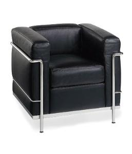 Le Corbusier LC2 Style Armchair Reproduction