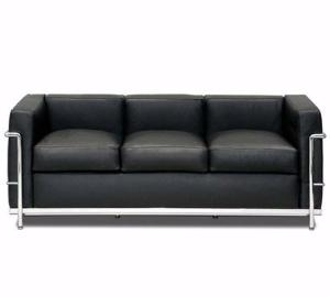 Le Corbusier LC2 Style Sofa Reproduction
