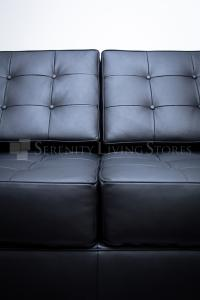 Florence Knoll Style Loveseat Reproduction 3