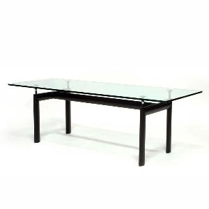 Le Corbusier LC6 Style Dining Table Reproduction 3