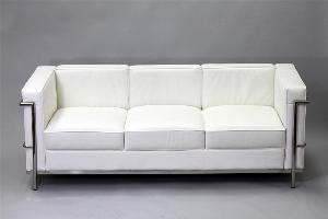 Le Corbusier LC2 Style Sofa Reproduction 2
