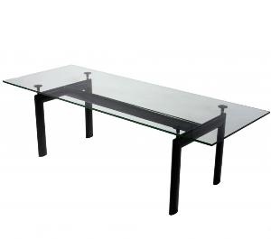 Le Corbusier LC6 Style Dining Table Reproduction