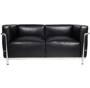 Le Corbusier LC3 Style Grand Loveseat Reproduction 5