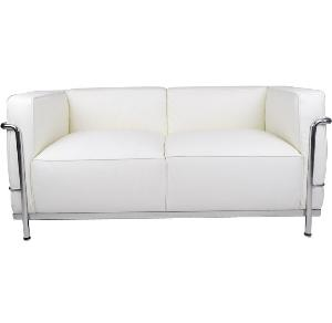 Le Corbusier LC3 Style Grand Loveseat Reproduction 2