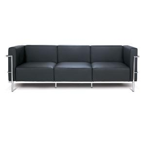 Le Corbusier LC3 Style Grand Sofa Reproduction