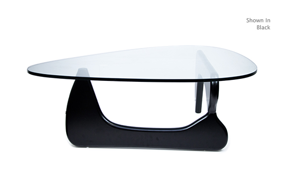 Noguchi Style Coffee Table Reproduction