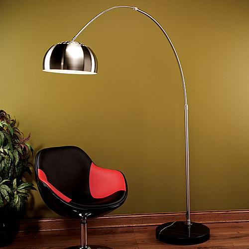 Arch Lamp Arc Floor Lamp Modern Arch Floor Lamps In Chrome