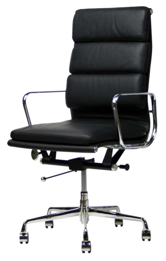 eames office chair soft pad high back modern office furniture