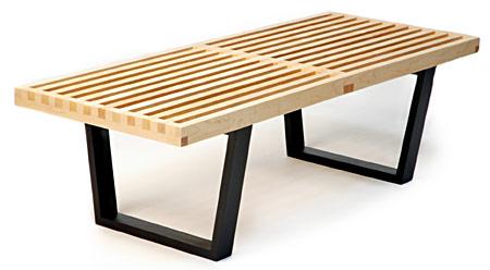 Nelson Platform Style Bench