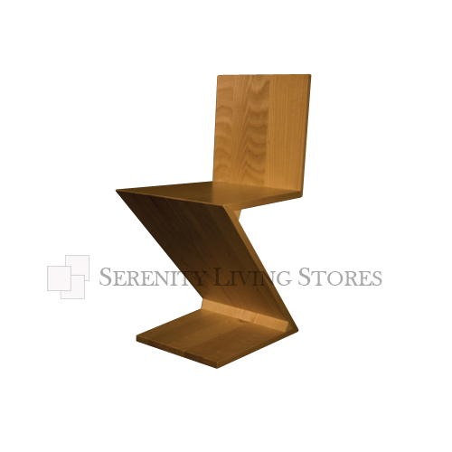 Loading zoom  sc 1 st  Serenity Living Stores & Zig Zag Chair Replica: Zig Zag Chair - Serenity Living Stores